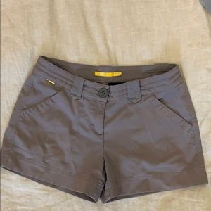 Lole grey chino shorts